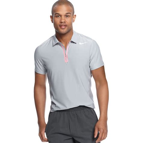 Polo T Shirtkaosnike Tennis nike premier roger federer tennis polo shirt in gray for lyst