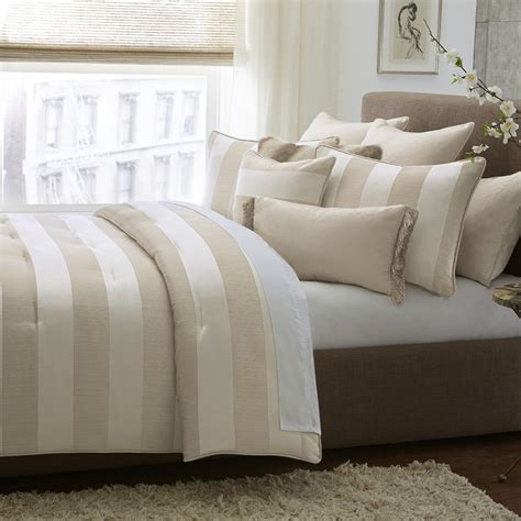 aico michael amini amalfi 10pc king comforter set sand