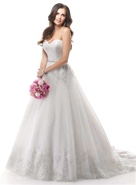 Wedding Dress Sottero by Maggie Sottero Chandler Wedding Dress Hoops A