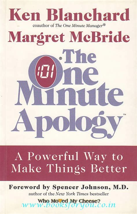 the one minute apology the one minute apology books for you