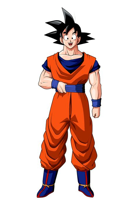 imagenes de goku normal wiki los mejores render del guerrero mas fuerte de dbz