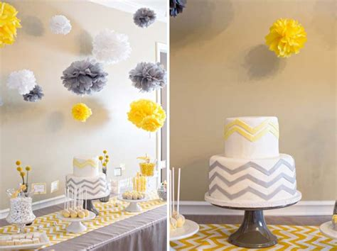 Chevron Themed Baby Shower baby shower ideas chevron themed baby shower