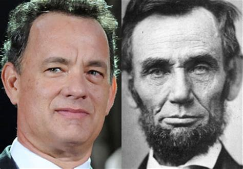 abraham lincoln tom hanks in pictures top 10 family connections