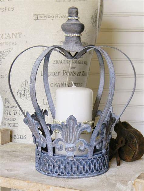 crown craft retreat steel casserole crown candle holder metal crown metal candle holder shabby