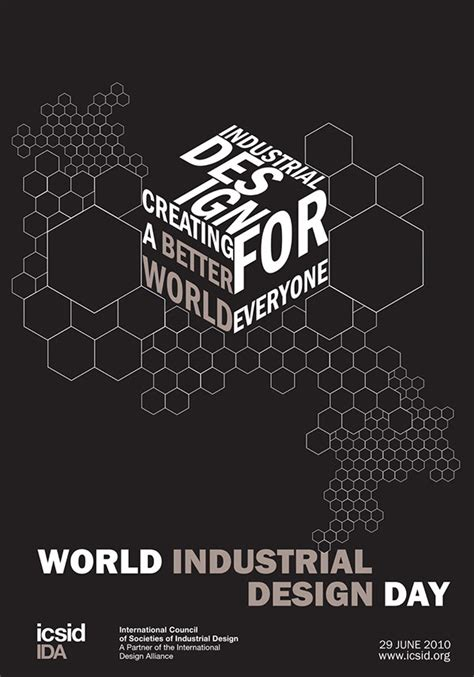 design competition industrial design icsid world industrial design poster on behance