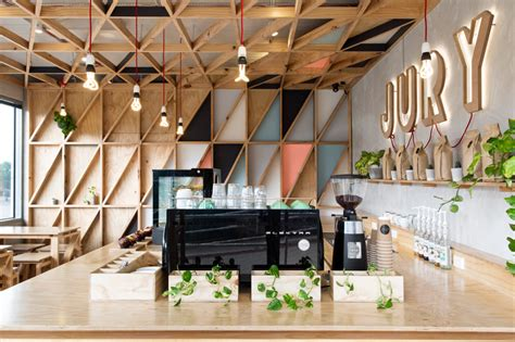 cafe design melbourne jury cafe by biasol design studio constructed from a mix