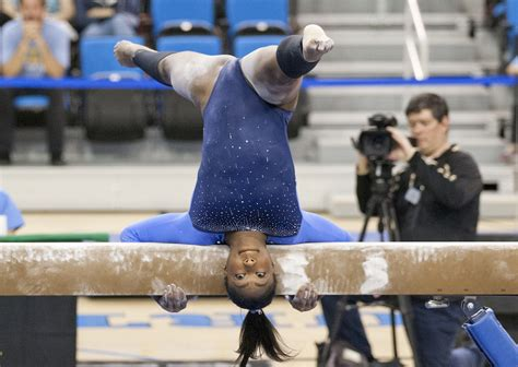 Or Gymnastics Ucla Gymnastics Defeats Oregon State Daily Bruin