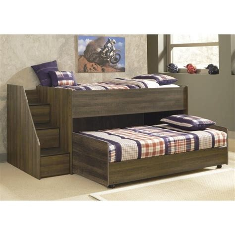 ashley furniture kids bed ashley furniture juararo loft bed with caster bed in dark