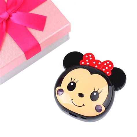 Power Bank Character Minnie Mouse portable mickey minnie mouse power bank 12000mah external battery charger ebay