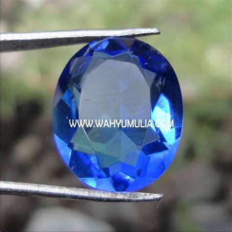 Batu Akik Obsidian Hijau Mahkota batu permata blue obsidian kode 140 wahyu mulia