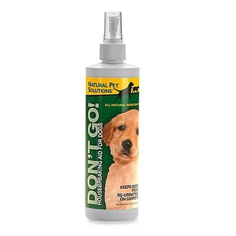 7 Smart Pet Solutions by Pet Solutions Quot Don T Go Quot Housebreaking Aid Spray