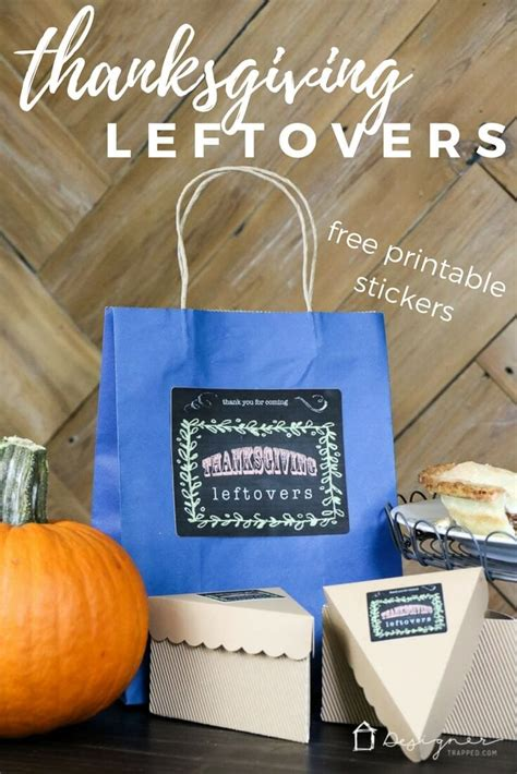 diy thanksgiving leftovers containers designertrappedcom