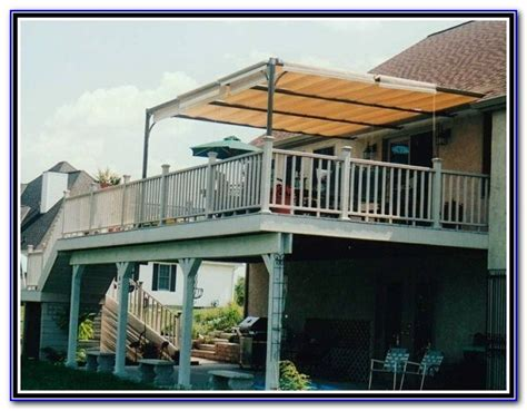 canvas awnings for decks canvas awnings for decks decks home decorating ideas