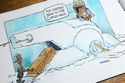Star Wars and Calvin & Hobbes is the perfect combination