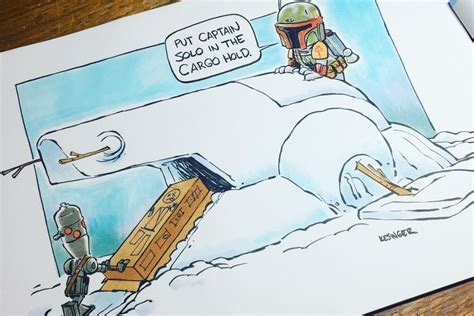 5 Hilarious Books About What Star Wars And Calvin Hobbes Is The Perfect Combination
