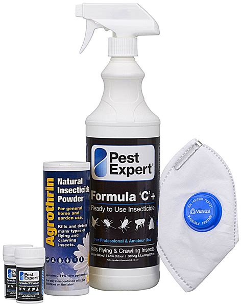 Flea Treatment Kit For 1 Room 163 22 95 Pest Control Supermarket