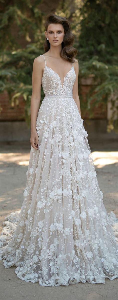 top 20 wedding dresses with gorgeous details deer pearl flowers