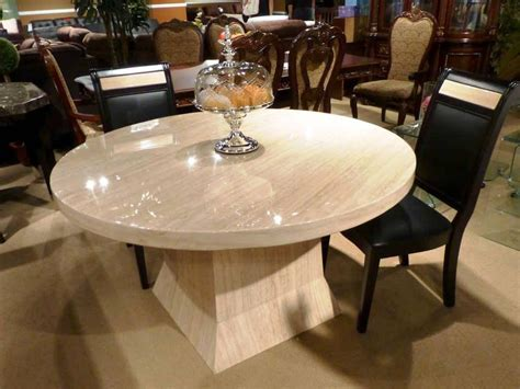Round Marble Dining Table   Inspiration and Design Ideas
