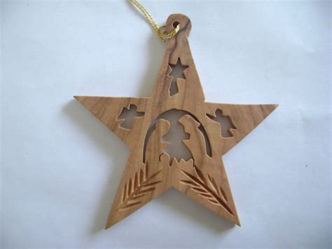 Handmade Wooden Decorations - handmade olive wood religious decorations buy