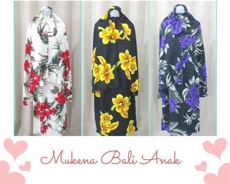 Mukena Bali Anak 5 10 by Pusat Produksi Mukena Bali Murah Cuma 62rb Grosir Baju