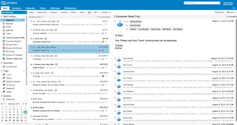Zimbra Email Search Zimbra