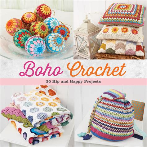 Crochet Giveaway Ideas - boho meets crochet 30 fun patterns giveaway stitch this the martingale blog