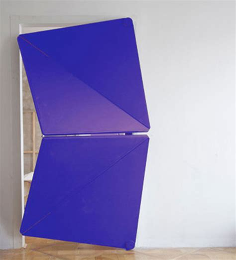 Origami Door - these amazing doors fold onto themselves like origami