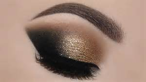 Make gold glam cat smokey eyes amp perfect skin makeup tutorial melissa