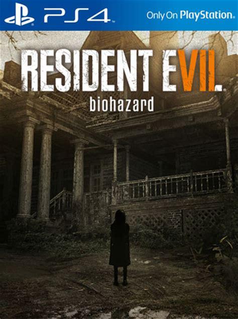 Kaset Ps4 Resident Evil 7 buy resident evil 7 biohazard ps4 psvr digital code playstation network