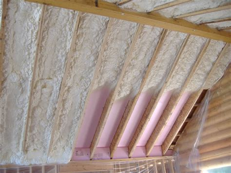 Insulation For Vaulted Ceiling by Country Insulation Icynene Insulation System