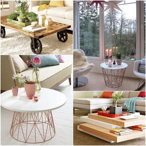 diy small table coffee table beautiful cheap diy coffee table ideas small