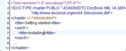 xml xinclude tutorial xinclude support oxygen xml editor