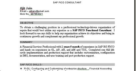 sap basis consultant resume 2 years experience sap bi sle