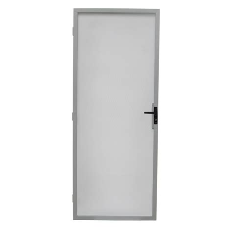 Screen Door Frame by Bastion 2032 X 813mm White Metric Steel Frame