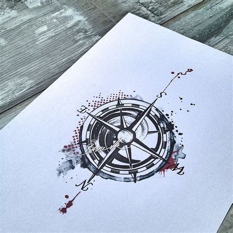 tattoo compass trash polka best ideas about compass tattoo trash polka polka trash