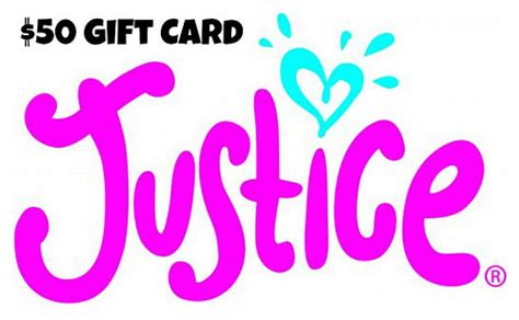 Justice Gift Card - 50 justice gift card donated by born just right bornjust flickr photo sharing