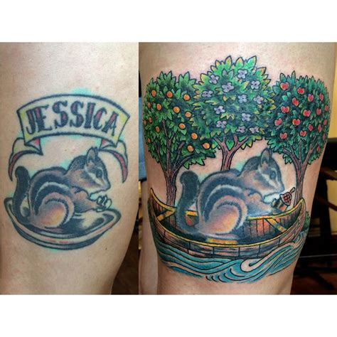 before and after cover up rework by jon reed at all saints