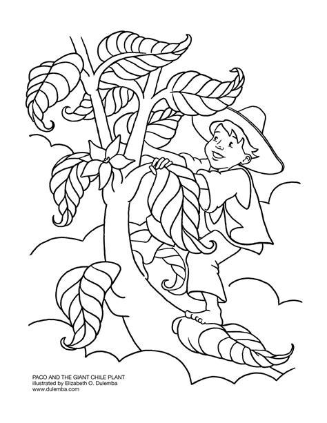 Hansel N Gretel Floor Puzzle kleurplaat jaap en de bonenstaak sjaak en de bonenstaak