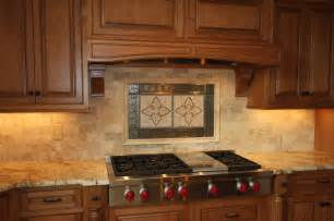 Stone Kitchen Backsplash Custom Stone Backsplash Traditional Kitchen Other
