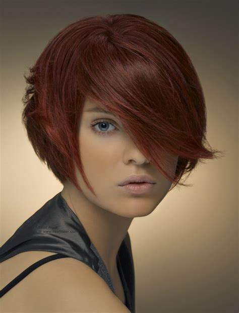 five one hair cut short fashion hairstyle with the hair circling the head