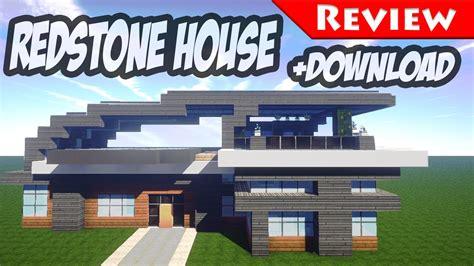 redstone house download minecraft modern redstone house review download smart house 1 8 secret bases