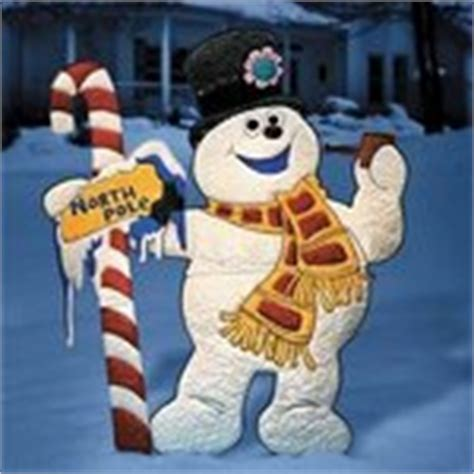 frosty the snowman outdoor christmas yard decor art 12 15