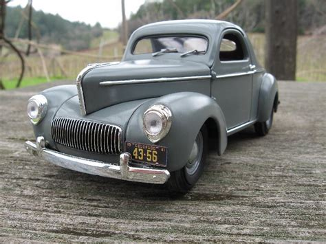 Willys Coupe 1941 Diecast 1941 willys americar gasser 1 18 diecast back to stock