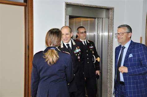 questura di cosenza permesso di soggiorno visita comandante della legione carabinieri calabria