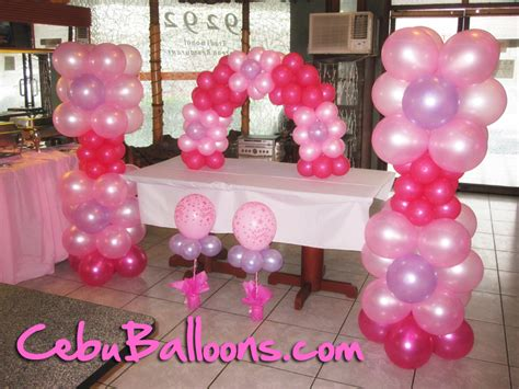 Balon Sablon Pink Souvenir Wedding 1 balloon decoration pictures favors ideas