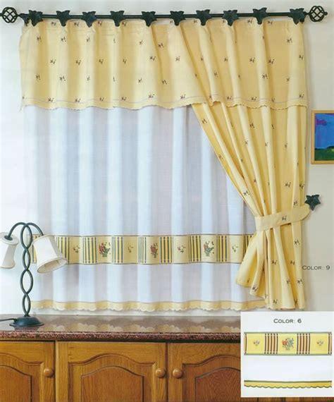 cortinas de cocina cocina4 decoracioninteriores net
