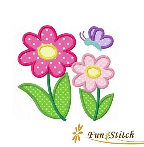 Flower Applique by Flower Applique Designs Www Imgkid The Image Kid