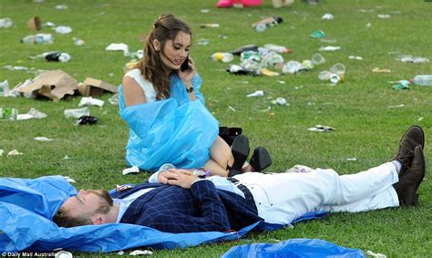 Coup Loras Heels Blue Bb melbourne cup 2016 photos of day which saw 9 arrested 78