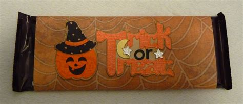 halloween candy bar wrappers template