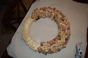 wine cork wreath work in progress guinness backyard